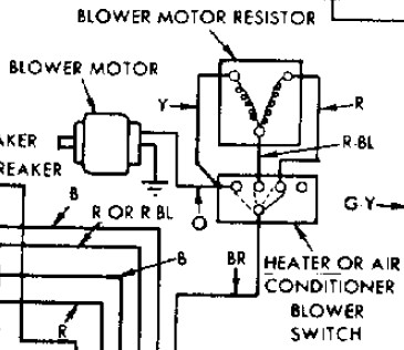 4 terminal vs 6 terminal blower switch mystery page 3 for Electric motor repair albuquerque