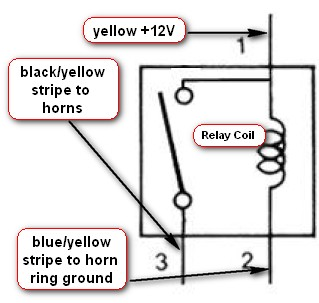 3 wire horn relay diagram 72 charger horn relay diagram #9