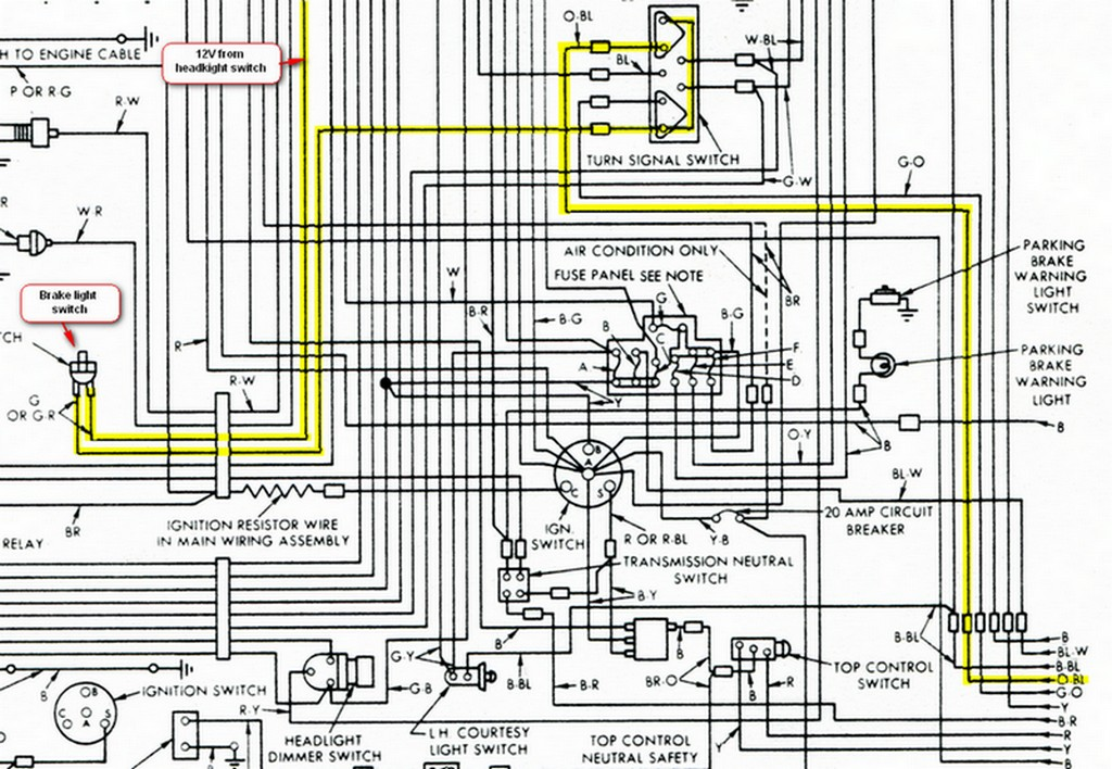 Ford Thunderbird Wiring Diagram on 2000 toyota 4runner daytime running light relay location