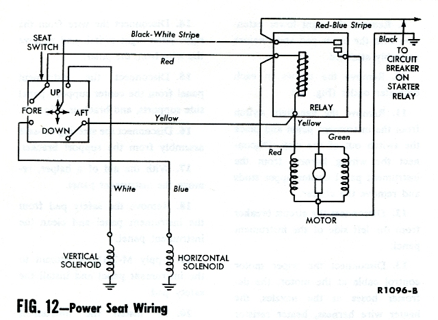 powerseatdiagram power seat not working vintage thunderbird club international 84 Ford Thunderbird Wiring Diagram at gsmx.co