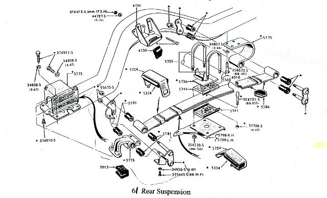 1957 thunderbird wiring diagram